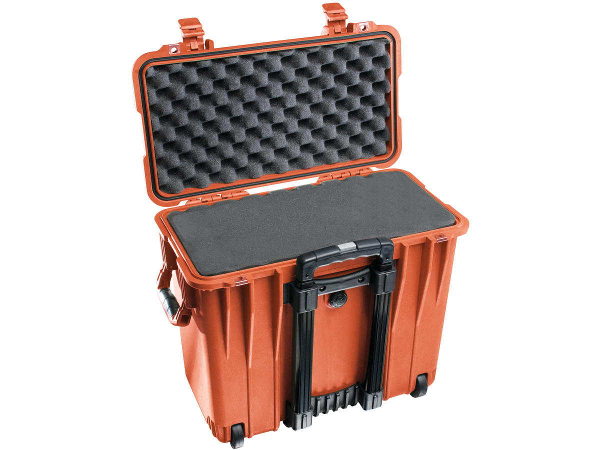 Pelican 1440 Top Loader Case - With Logo - With or Without Foam - Comes in 6 Colors