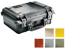 Pelican 1450 Medium Watertight Case with Foam - 6 Colors Available