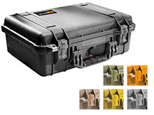 Pelican 1500 Watertight Case With Foam - Available in 6 Colors