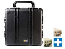 Pelican 1640 Airtight Transport Case With Pelican Logo - With or Without Foam - Various Colors