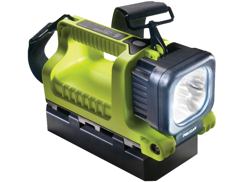 Pelican 9410 Rechargeable LED Lantern/Flashlight - Yellow (9410-001-245)