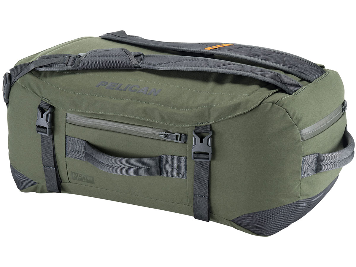 Green 40L Duffel Bag