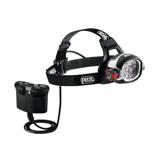 Petzl Specialized Ultra Rush Belt Rechargeable LED Headlamp - 760 Lumens - Includes Remote Li-ion Battery Pack (E52-B)