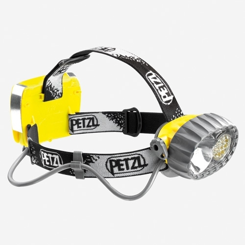 Petzl Versatile DUO LED 14 Headlamp - 14 x LEDs - 1 x Halogen Bulb - 67 Lumens - Includes 4 x AA/LR6s (E72-P)