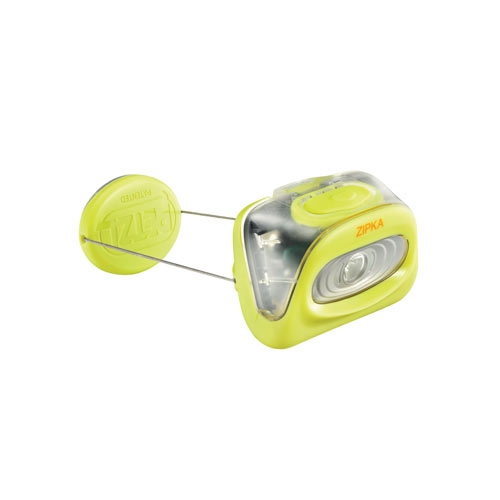 Petzl Zipka LED Headlamp 80 Lumens - Uses 3 x AAA Batteries - Available in Blue