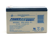 Power-Sonic AGM General Purpose PS-1270 7Ah 12V Rechargeable Sealed Lead Acid (SLA) Battery - F1 Terminal