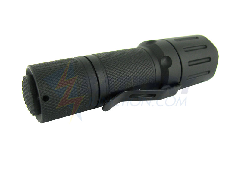 PowerTac Cadet LED Flashlight with CREE XP-G R5 LED - 300 Lumens - Uses 1 x CR123A
