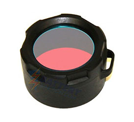 PowerTac Filter For Warrior and Hero Flashlights - Red or Green Options