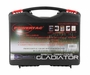 PowerTac Gladiator Rechargeable Package - 750 Lumen LED flashlight with Rechargeable Batteries and Home Charger