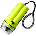 Princeton Tec TEC 400 Dive Light - Halogen Bulb - 50 Lumens - Includes 4 x C - Black, Blue or Neon Yellow