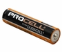 Angle Shot of the Duracell Procell AAA 1.5V Alkaline Button Top Battery