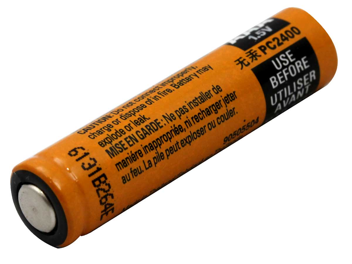 Bottom Shot of the Duracell Procell AAA 1.5V Alkaline Button Top Battery