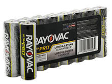 Rayovac Ultra Pro AL-AA 1.5V Alkaline Button Top Batteries - 8 Pack Shrink Wrap