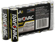 Rayovac Ultra Pro AL-AAA 1.5V Alkaline Button Top Batteries - 8 Pack Shrink Wrap