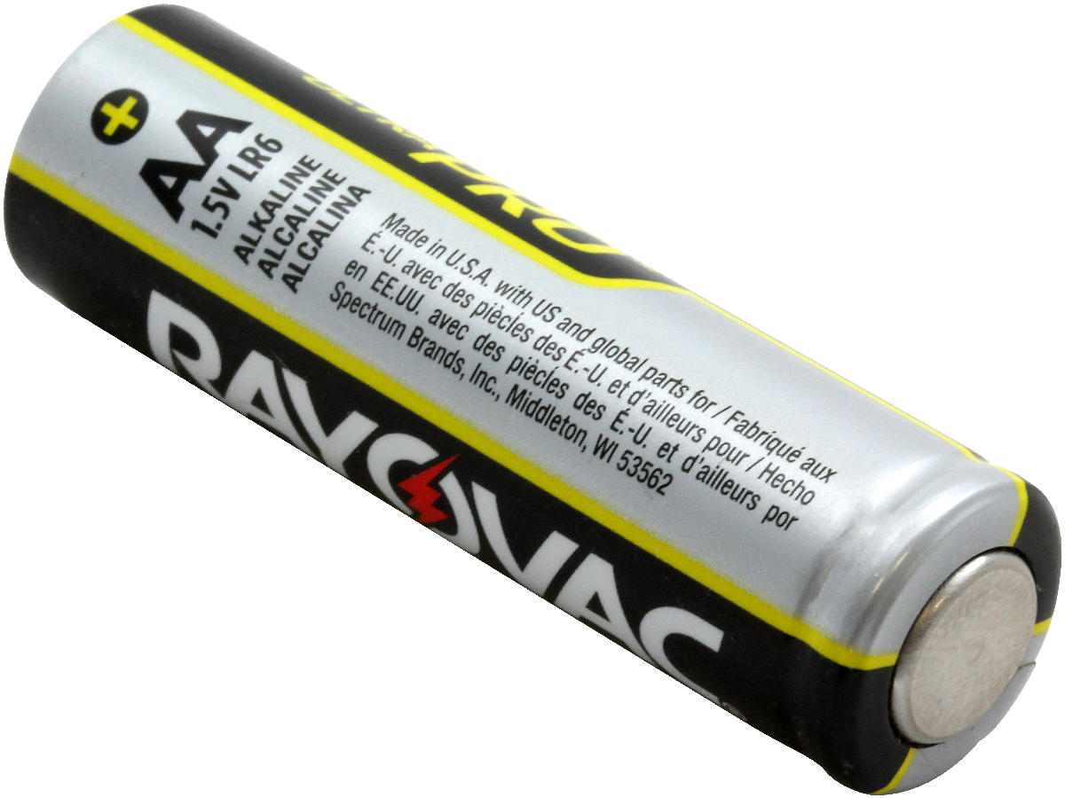 Rayovac Ultra Pro AL-AA-48 1.5V Alkaline Button Top Batteries - 48 Pack