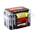 Rayovac Ultra Pro AL-AAA-24 1.5V Alkaline Button Batteries - 24 Pack