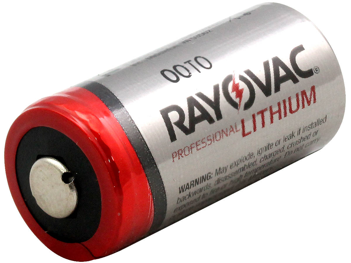 Rayovac RLCR123A (12PK) 1400mAh 3V Lithium Primary (LiMNO2) Button Top Photo Batteries - Box of 12