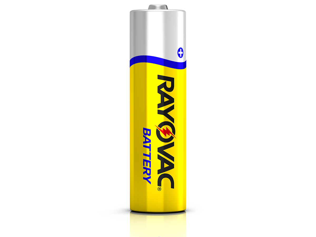 Rayovac Heavy Duty HD-AAF 1100mAh 1.5V Zinc Chloride Button Top Batteries - 8 Pack Shrink Wrap