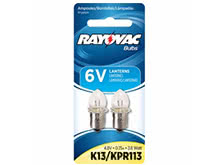 Rayovac K13 Krypton Replacement Bulb - 2 Pack - For 4D Flashlights