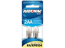 Rayovac K4 Krypton Replacement Bulb - 2 Pack - For 2AA Flashlights