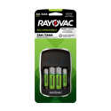 Rayovac Recharge Value Charger 4 Position AA and AAA Charger - Includes 2 x AA and 2 x AAA