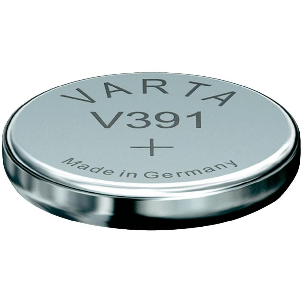 Varta 391 Electronic Silver Oxide Button Cell Battery in Pill Box (V20391101111)