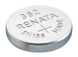 Renata 362 23mAh 1.55V Silver Oxide Coin Cell Battery (362-MP) - Tear Strip