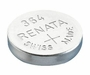 Renata 364 20mAh 1.55V Silver Oxide Coin Cell Battery (364-MP) - Tear Strip