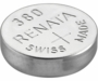 Renata 380 82mAh 1.55V Silver Oxide Coin Cell Battery (380-MP) - Tear Strip