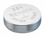 Renata 384 45mAh 1.55V Silver Oxide Coin Cell Battery (384-MP) - Tear Strip