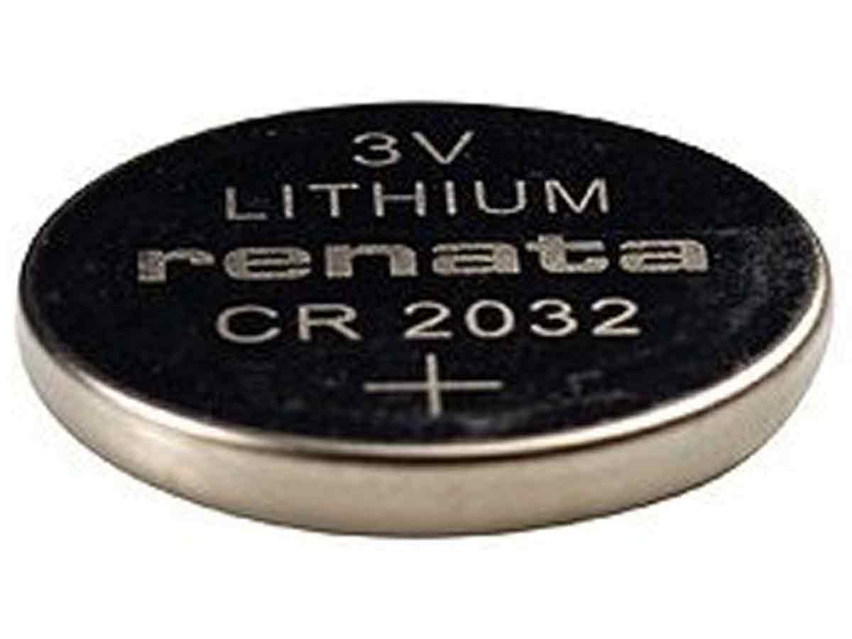 renata cr2032 ib 225mah 3v lithium primary limno2 coin. Black Bedroom Furniture Sets. Home Design Ideas