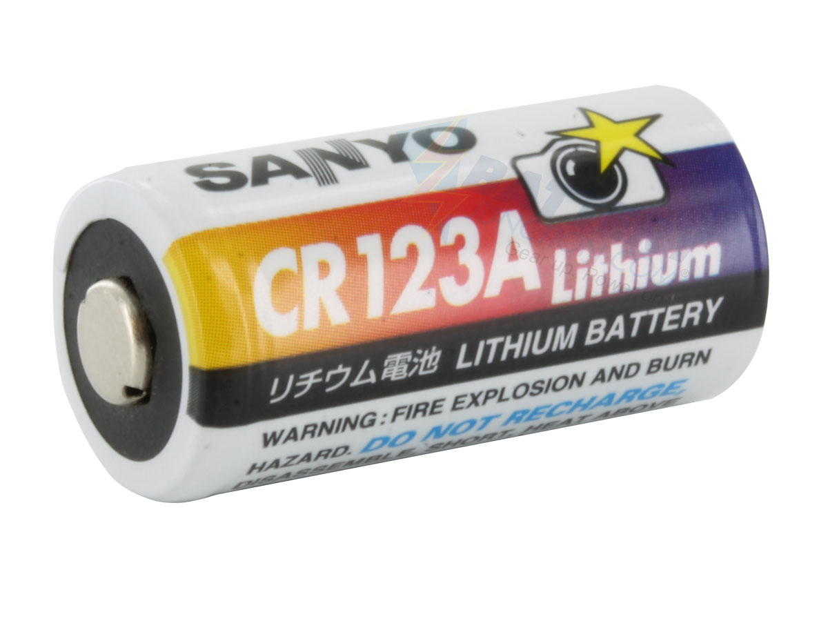 sanyo cr123a 1400mah 3v lithium photo batteries box of. Black Bedroom Furniture Sets. Home Design Ideas