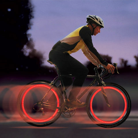 Nite Ize Flashflight Spokelit LED Wheel Light for Bikes - Includes 2 x CR2016s - Blue, Disc-o, Red or Green LEDs