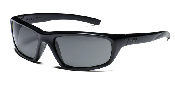 Smith Optics - DIRECTOR Tactical Sunglasses with Black Frames with Polarized Gray Lenses
