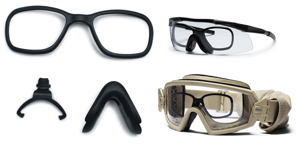 Smith Optics - Interchangeable RX System for Goggles/Eyeshields - Black - Single