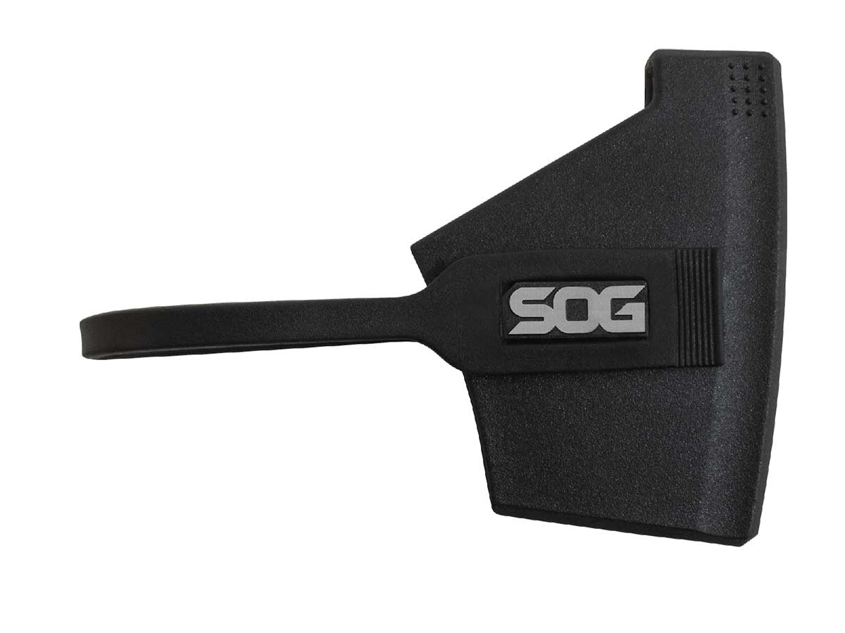 SOG Camp Axe - 3.1 Inch Blade - Clam Shell - Satin - Black