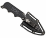 SOG Instinct Fixed Blade Knife - 2.3-inch Straight Edge, Clip Point - Satin Polished - Silver Skeleton or Black G10 Handle - Hard Nylon Sheath - Clam Pack