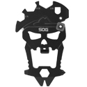 SOG MacV Multi-Tool - 12 Tools Included - Hardcased Black - Clam Pack (SM1001-CP)