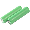 Sony VTC6 IMR 18650 3000mAh 3.6V Unprotected High-Drain 30A Lithium Manganese (LiMn2O4) Flat Top Battery - Bulk