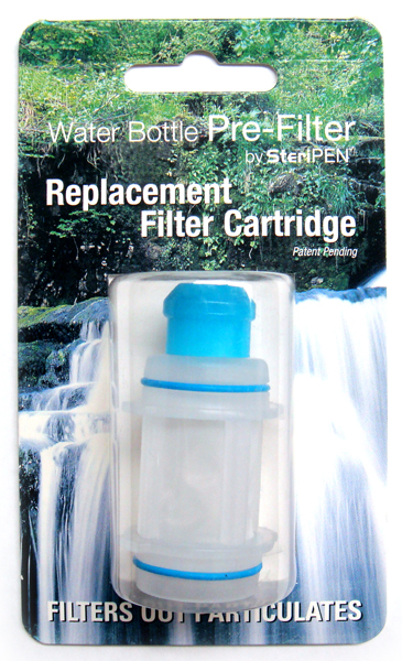 SteriPEN Water Bottle Pre-Filter Replacement Filter Cartridge