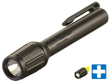 Streamlight 2AAA ProPolymer HAZ-LO Flashlight - 1 x C4 LED - 60 Lumens - Includes 2 x AAA Alkaline Batteries - Clam Packaging - Comes in Various Colors
