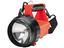 Streamlight Fire Vulcan Rechargeable Lantern - 8-Watt Halogen Spot, Blue LED Taillights - 150 Lumens - Class I Div 2 - Includes 1 x SLA