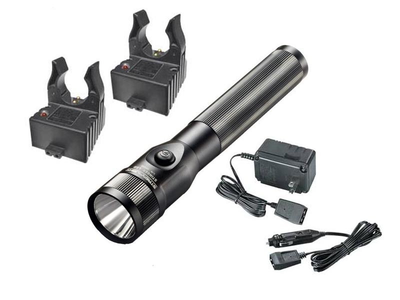 Streamlight Stinger DS Dual Switch Rechargeable LED Flashlight - 350 Lumens - Choice of Battery and Charger