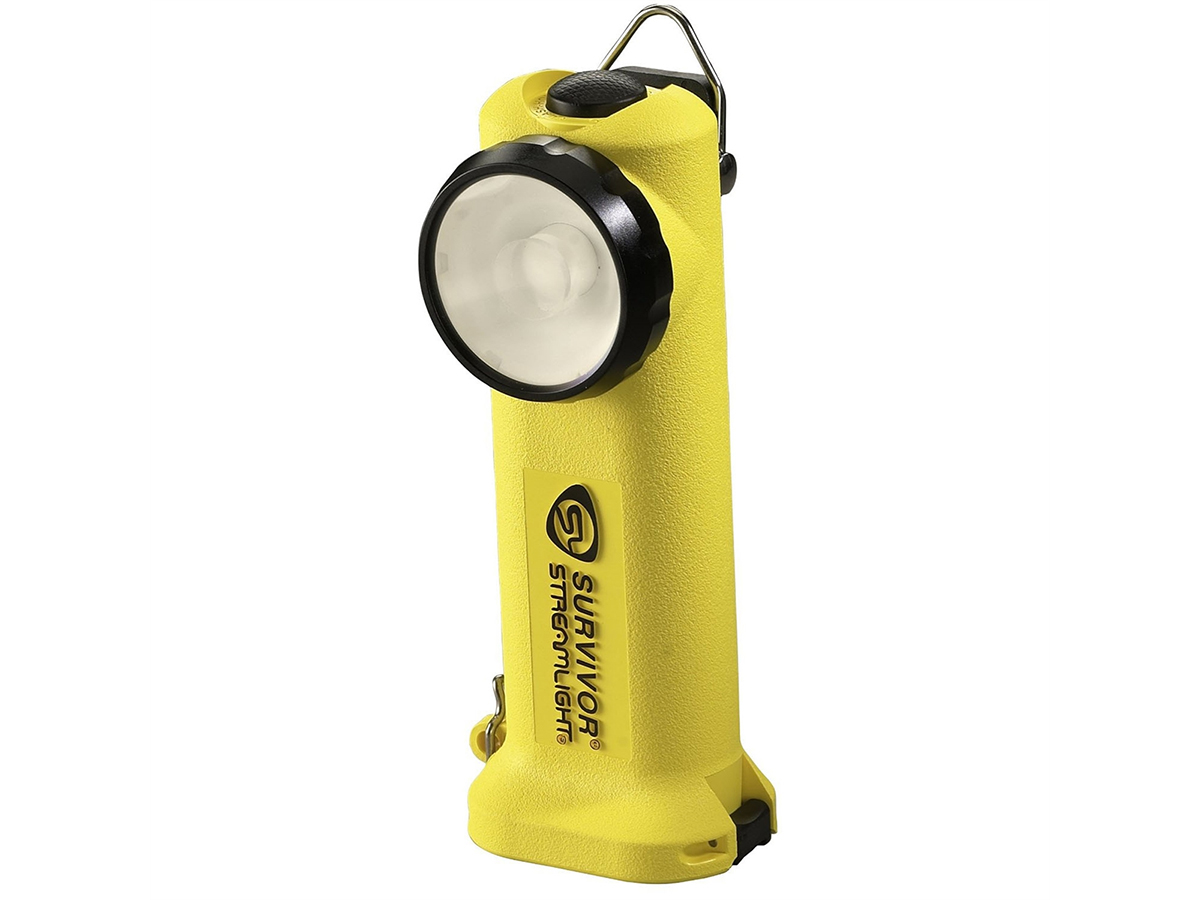 Streamlight Survivor Right Angle Rechargeable Work Light with 120V AC /DC Charger - C4 LED - 175 Lumens - Includes NiCd Battery Pack -  Class I Div 1 - Available in 3 Colors