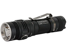 SUNWAYMAN C20C LED Flashlight with CREE XM-L U3 LED - 620 Lumens - Uses 2 x CR123A or 1 x 18650