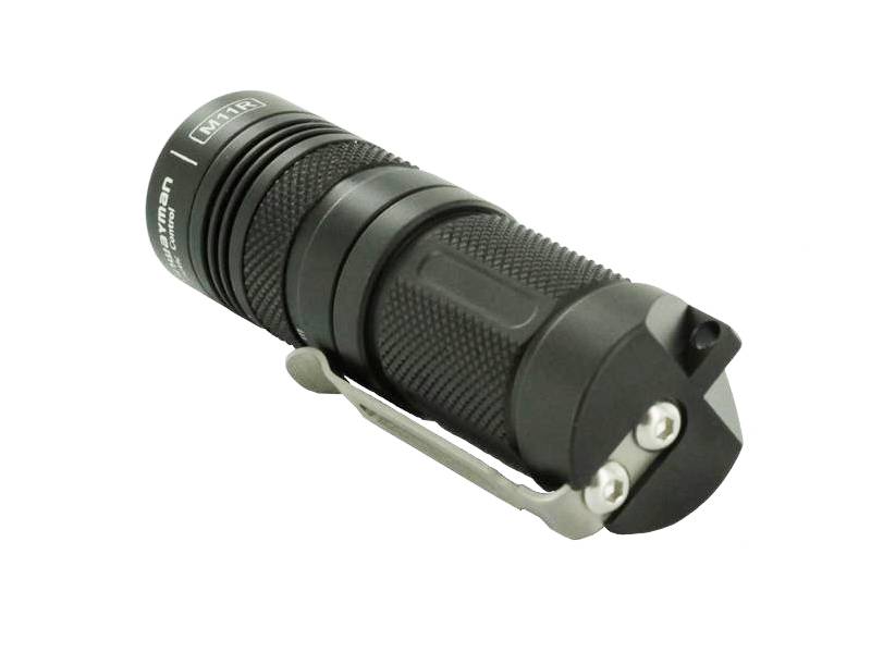 Sunwayman M11R U2 Mr. Elfin 230 Lumens Ultra-compact Magnetic Control Flashlight Uses 1 x CR123A or 16340 Battery  - Black
