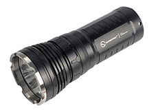 Sunwayman M60C Panther Flashlight with Magnetic Control - 3 x CREE XM-L2 LEDs - 2500 Lumens - Uses 3 x 18650s or 6 x CR123A/RCR123A/16340s