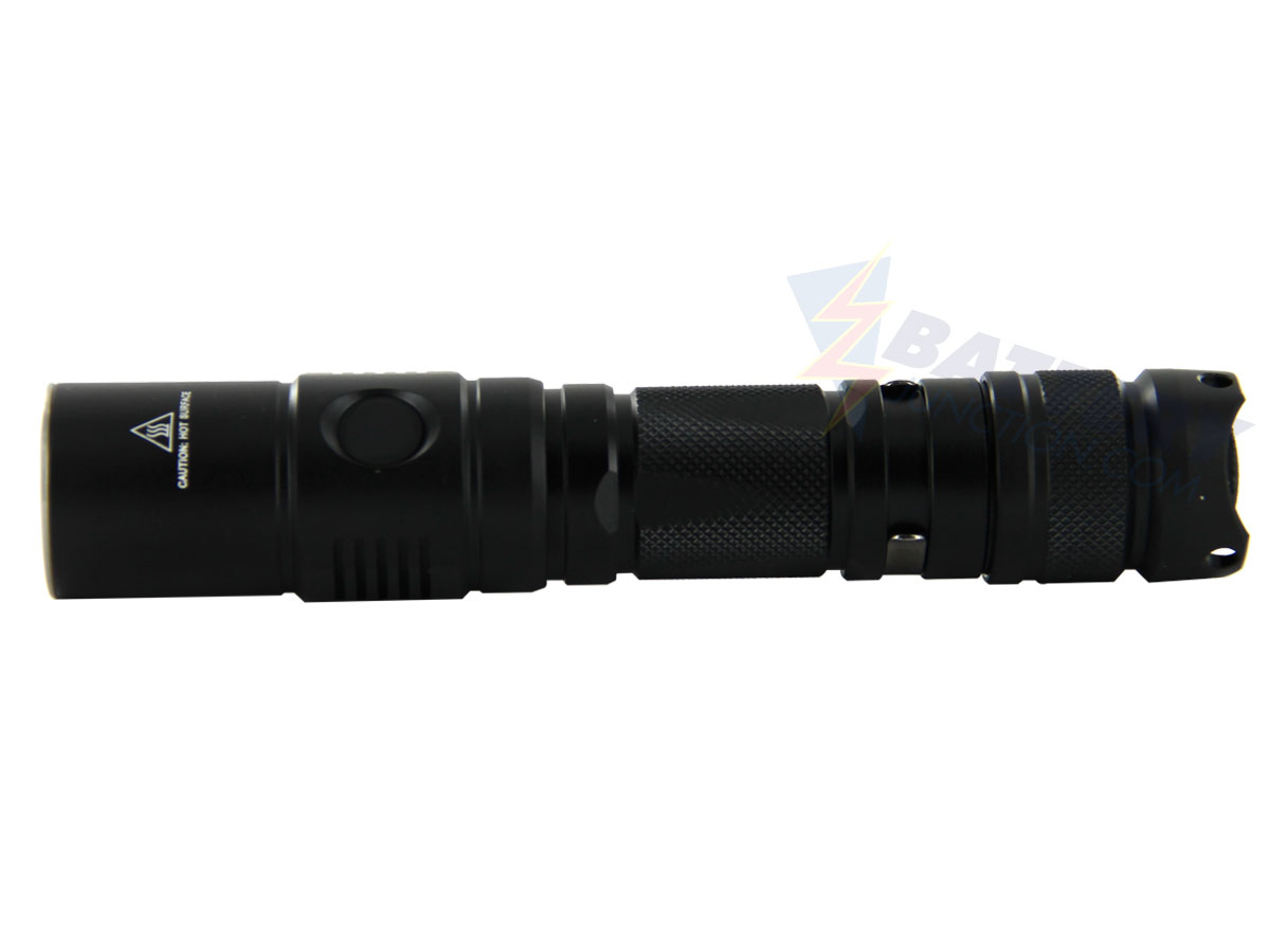 Sunwayman P25C Pocket-Sized Thrower Flashlight - CREE XM-L2 U2 LED - 1000 Lumens - Uses 1 x 18650 or 2 x CR123As