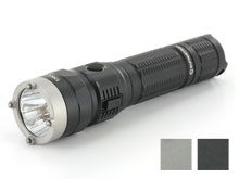 Sunwayman T20CC USB Rechargeable Tri-Color Tactical Flashlight - CREE XM-L2 U3 White LED - Red, Green and UV Outputs - 1000 Lumens - Uses 1 x 18650 or 2 x CR123A - Black or Gray