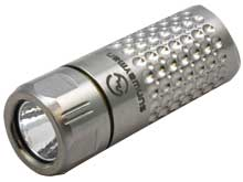 Sunwayman Ti Comet USB Rechargeable Limited Edition Titanium Flashlight - CREE XQ-E R2 LED - 88 Lumens - Includes 1 x 10180
